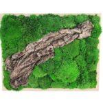 Machový obraz Wood L