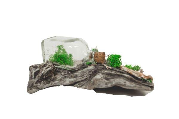 Drevená dekorácia Glass M