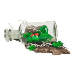 Drevená dekorácia Glass S