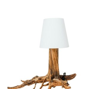 Drevená lampa Roots