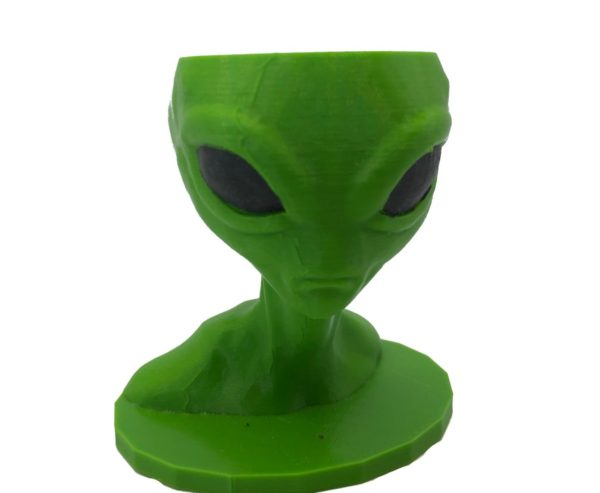 3D kvetináč mimozemšťan